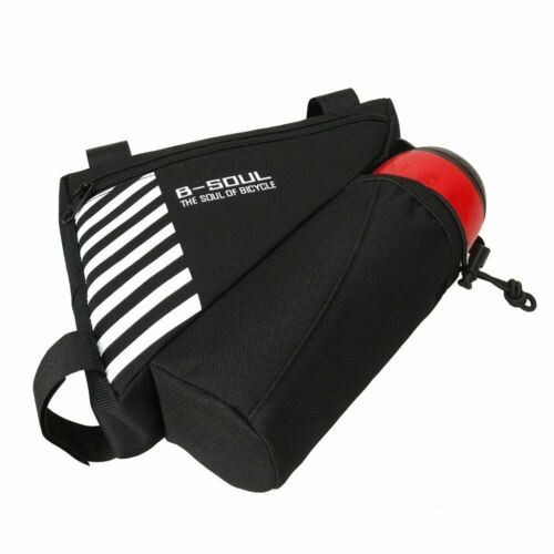 Waterproof-Triangle Cycling Bike Bicycle Front Tube Saddle Frame Phone Pouch L//P