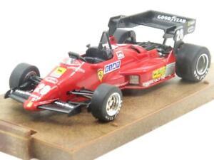 Brumm-Diecast-R143-Ferrari-126-C4-1984-Rojo-28-1-escala-43-En-Caja