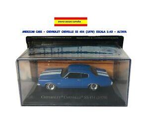 AMERICAN-CARS-CHEVROLET-CHEVELLE-SS-454-1970-ESCALA-1-43-ALTAYA-RUTA-66