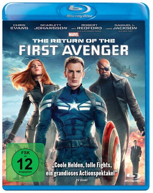 Captain America - Teil: 2 - The Return of the First Avenger [Blu-ray/NEU/OVP]
