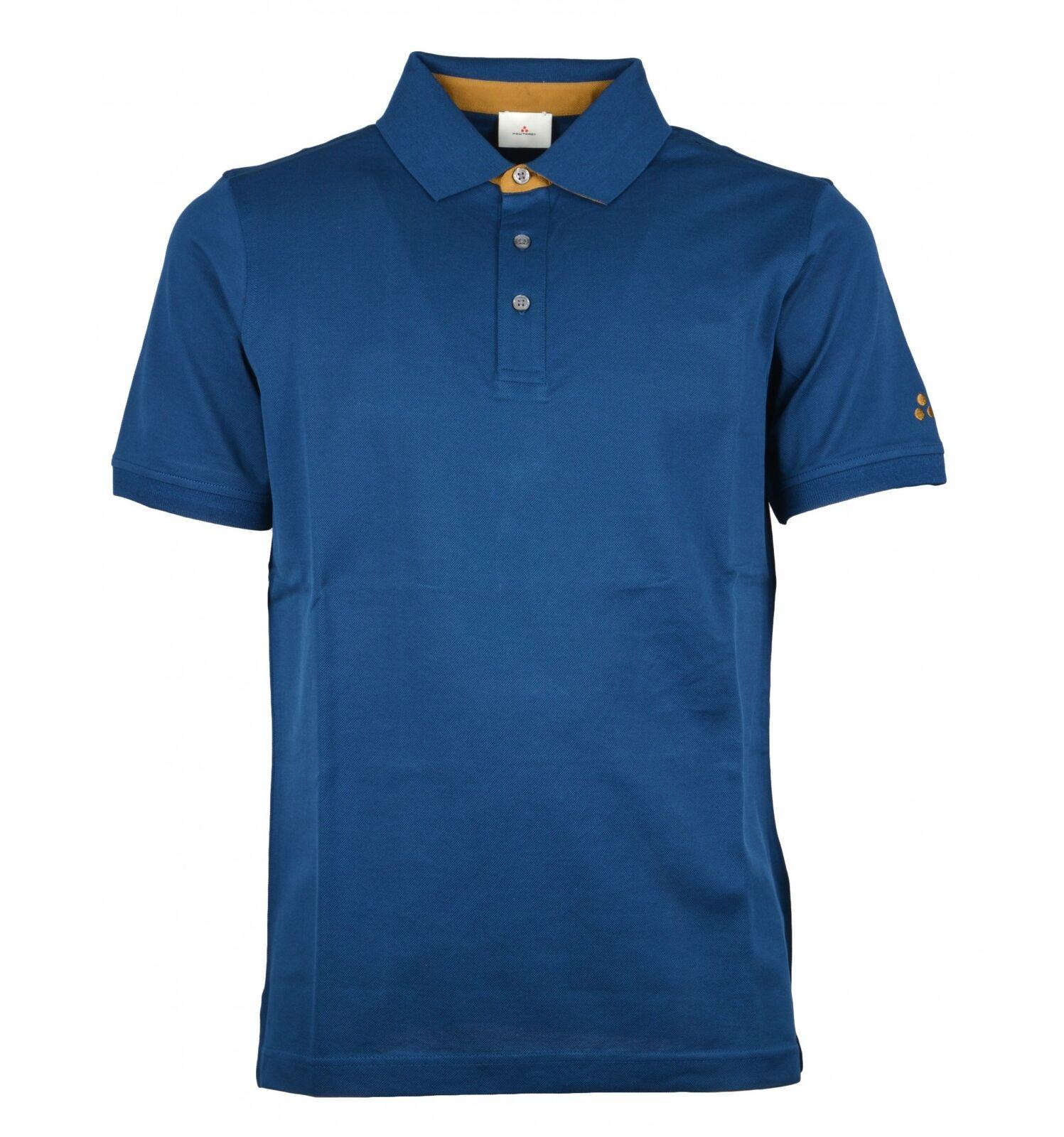 PEUTEREY uomo maglia polo blu avio LISIMBA PEU2471 151