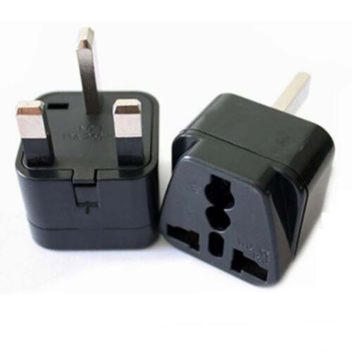USA US EU Europe To UK British Travel Charger Adapter 3pk Plug Outlet Converter