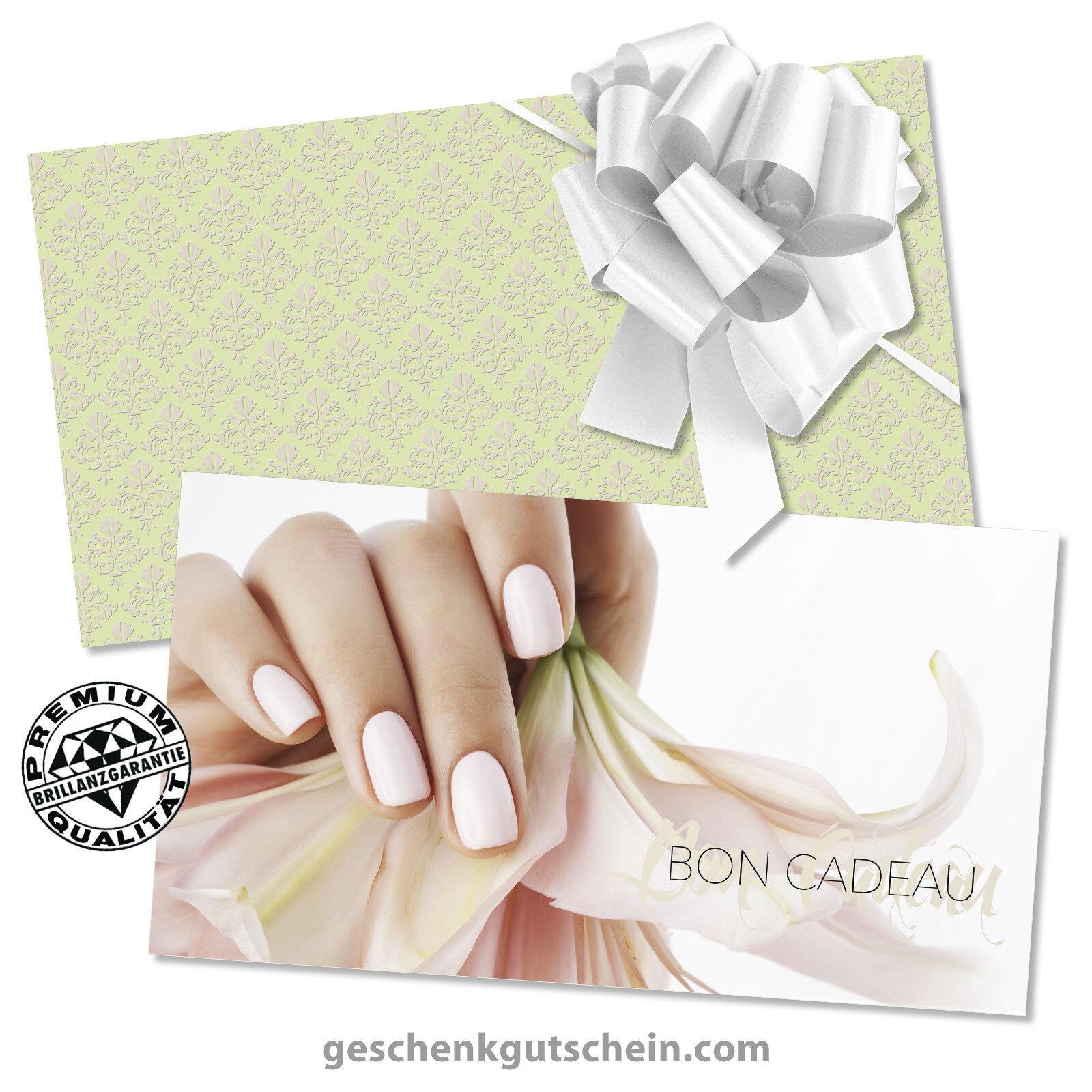 Bons cadeaux  enveloppes  nœuds rub. pour instituts de beauté KS1278F  | Deutschland Berlin  | Deutschland Store