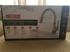 Delta Trask Pro 18933 Arsd Dst Pull Down Kitchen Faucet Stainless For Sale Online Ebay