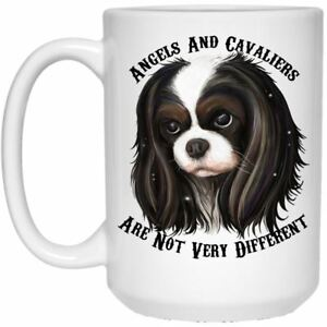 Image is loading Cavalier-King-Charles-Spaniel-Gifts-Cavaliers-And-Angels-