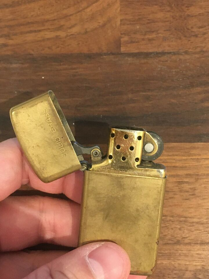 Lighter, Zippo messing 1922/1989