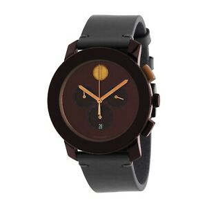 Movado 3600445 Men's Bold Brown Quartz Watch