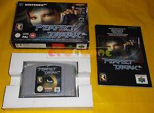 PERFECT DARK Nintendo 64 N64 Versione PAL Europea ○○○○○ COMPLETO