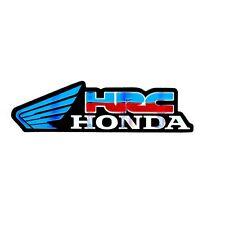 HRC HONDA BLUE WING LOGO CAR MOTORCYCLE BIKE RACING TEAM BADGES STICKERS DECALS