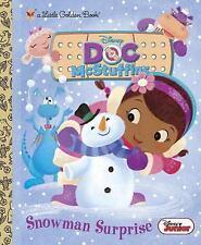 Snowman Surprise Disney Junior: Doc McStuffins by Andrea Sanchez Hardcover Book