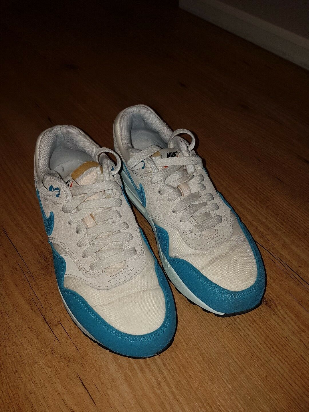Nike Air Max 1 Vintage Trainer   Sneakers    Size uk 4.5 (555284-102) RARE COLOUR 99a7dc