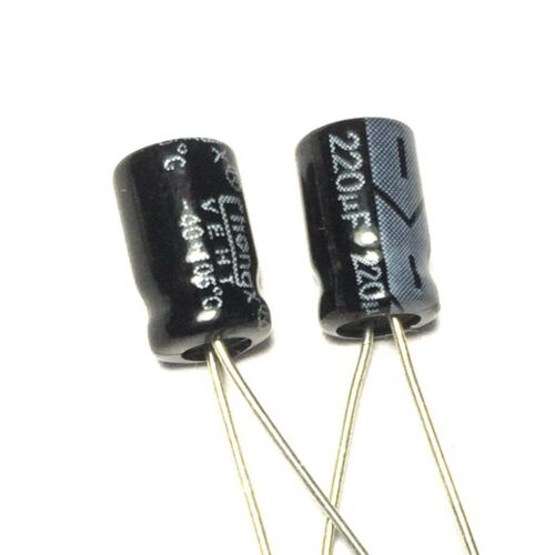 10V Electrolytic Capacitor 33uF 100uF 220uF 330uF 470uF 680uF 1000uF MFD
