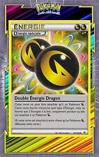 Double Energie Dragon-XY6:Ciel Rugissant- 97/108 - Carte Pokemon Neuve Française