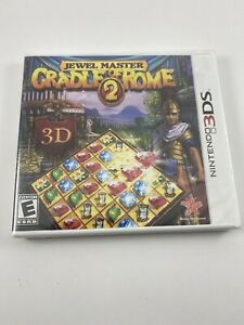 Jewel Master CRADLE of ROME 2: Nintendo 3DS Brand New Factory Sealed