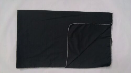 MADE IN THE USA 10 BLACK COTTON FENDER COVERS 36x60