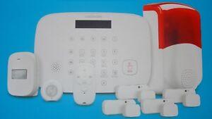 Alarmsystem-Medion-MD90770-P85770-Alarmanlage-Bewegungsmelder-GSM-WLAN