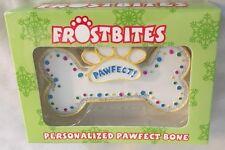 "Personalized 4.5"" PAWFECT DOG BONE Ornament Figurine - You Add Name"