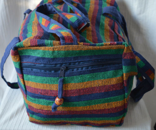 Cross Shoulder Travel Bag Zip Fastener holdall cabin size adjustable strap hippy