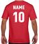 miniature 4 - Personalised Printed KIDS Football Style T-Shirt Boys Girls Tee Top