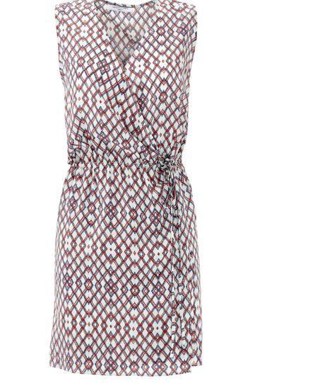 Waverly Grey Printed Anna Dress Size Small  275