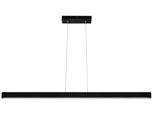 LED Hängeleuchte Pendelleuchte LED120KB-WENGE Holz Lampe 120cm verstellbar
