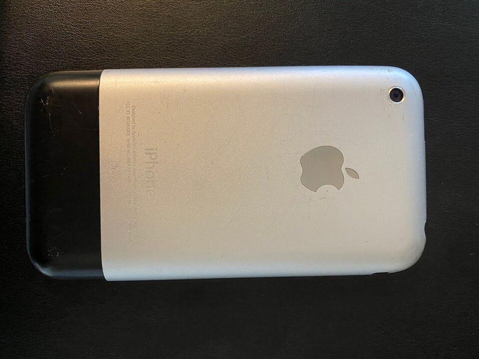 iPhone 2G, 16 GB, sort