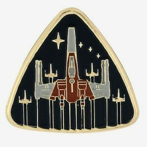 Star Wars: The Rise Of Skywalker X-Wing Badge Enamel Pin [New ] Pin
