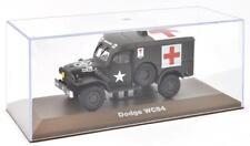 ATLAS 1/43 WWII DODGE WC54 U.S. MILITARY AMBULANCE TRUCK AMERICAN ARMY