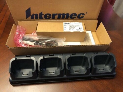 New Intermec DX4 Quad Dock for CN3 CN4 w ethernet DX4A1333310 852-917-001