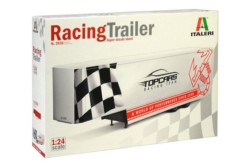 Italeri 1 24 Racing Trailer