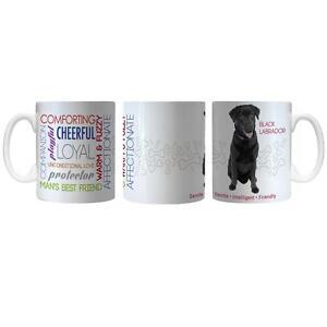 Image Is Loading Pet Dog Coffee Mug Black Lab New White