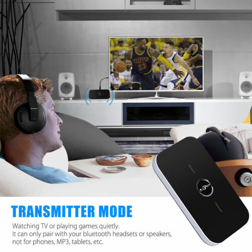 Bluetooth Audio Music Calling Transmitter/&Receiver 2IN1 Dongle for Phone//Speaker