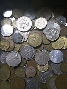 UNSEARCHED-Foreign-Coin-Collection-with-SentrySafe