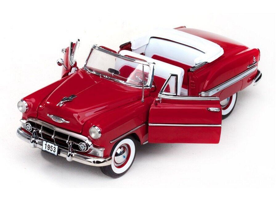 1953 chevrolet belair cabrio rote 1,18 sunstar 1620
