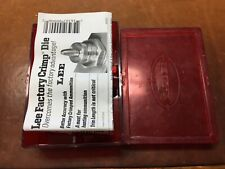 Lee Factory Crimp Die 416 Remington Magnum New In Box #90906