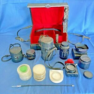 Obiettivi Vintage con valigetta filtri