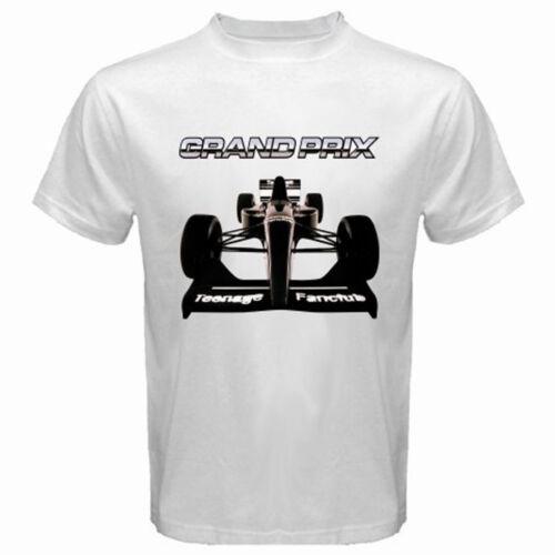New Teenage Fanclub GRAND PRIX Album Cover Hommes T-Shirt Blanc Taille S-3XL