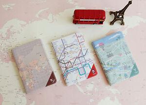 New-Travel-wallet-Passport-Cover-ID-Case-Holder-Pocket-PVC-INDIGO-Passport-Cover