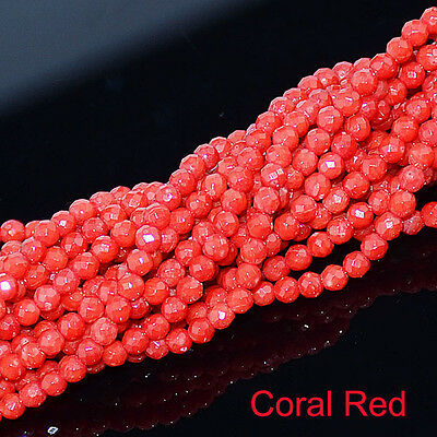 2mm 3mm Wholesale Lot Natural Gemstone Round Spacer Loose Facted Beads