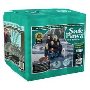 Safe Paw Dog Pet Saltless Ice Snow Melt for Various Terrain, 22 Pound Flexicube