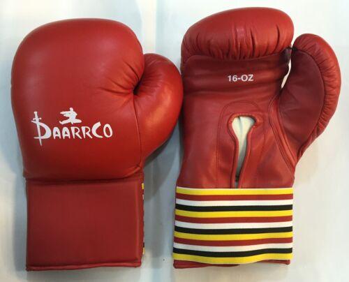 Darco Vecchia Scuola Stile Vintage Guantoni da boxe formazione professionale vera pelle
