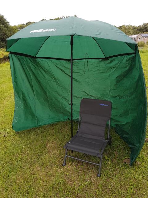 "45 /"" Nylon  Fishing Umbrella Brolly Tent Stormbrolly"