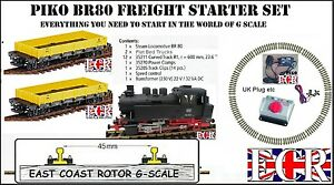 Neuf Piko Br80 G Échelle Électrique Rail & Nqd Kit De Démarrage Lgb Bachmann