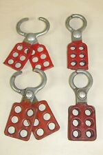 4 Safety Lockouts 6 Hole Lock Outs Electrician Construction Machine Repair Tools