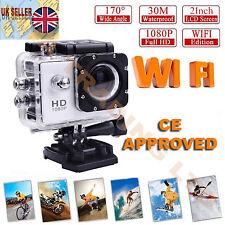 For GoPro HD Helmet Sport Action Video Camera 1080P WIFI 12MP Waterproof SJ7000