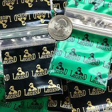 3 Mil 2020 2 X 2 Mini Zip Lock Design Bags Legend Gold Amp Green 2 C Mix 100 Pcs