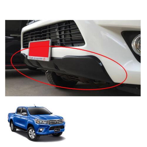Front Cladding Under Bumper Trim Black Fits Toyota Hilux Revo SR5 2015-17