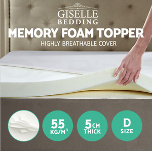 cover deals au deep bamboo trafalgar queen foam topper with size memory gel ovmatopglda double mattress infused