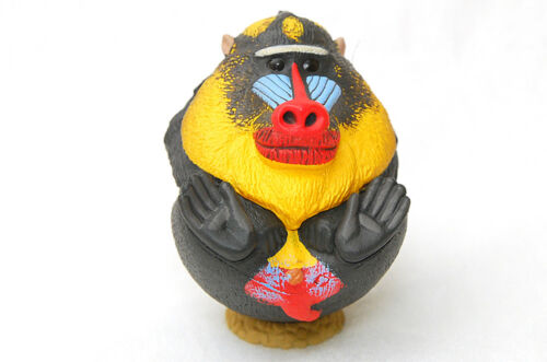 Takara Tomy ARTS Manmaru Animals Africa animal Male Mandrill figure US seller