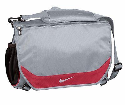 "Nike Golf Performance 15"" Laptop / MacBook Pro Business Messenger Bag Gry - New"